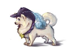 "One Piece Dog Charas - Cavendish ""Cabbage"" (by macherpuppy on tumblr)"
