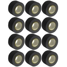 Gaffer's Tape - Black - 3 inch (12 Pack)