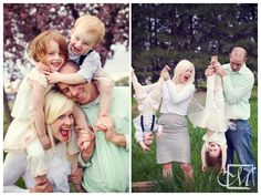 Family portraits full of play and personality!
