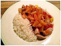 Chinese groentenschotel met saus en rijst (all-in one gerecht) - Jax Thermomix Recepten