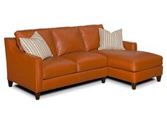 This would be perfect in Indigo Blue leather w rt chaise.  Twirl Leather Sectional by Envision : Leather Furniture