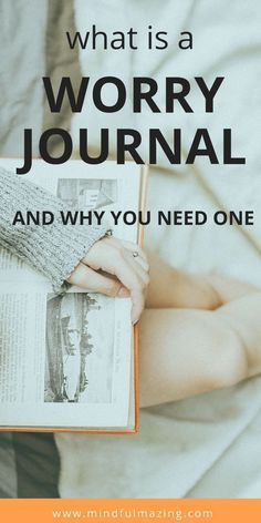 A small pebble of worry often snowballs into a boulder of anxiety, stress and mental health issues. Learn to stop to anxious, irrational thoughts and break free of excessive worry. Journal… More