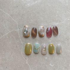 Happy Nails, Nail Trends, Nail Arts, Nail Inspo, Art Ideas, Nail Designs, Pearl Earrings, Make Up, Beauty