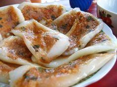 Banh Nam | Vietnamese Steamed Rice Cake with Shrimp and Pork