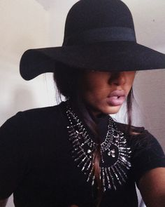 Boho Tie Flap Hat (available at Outfit Made)