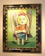 Nicola QUICI (1951) - Sitzende Knabe
