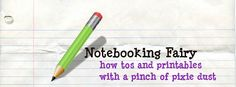 The Notebooking Fairy: teaches how to notebook and to give you lots of free printables to notebook with.