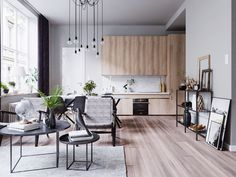 The rise of Scandinavian design in popularity is hardly new. However, there is little that is more soothing than taking a step inside a home that uses the simpl