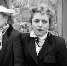 Ken Russell's 'The Last of the Teddy Girls' - London (East End) 1955 vintage fashion style mid 50s era