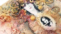 Life Book 2014 - Week 12 - Tangled with Anna Dabrowska (Finnabair) - willowing & friends