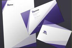 Diseño de papelería corporativa para Ya Marketing - Guernik Agencia