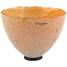 Kosta Boda Bertil Vallien Signed Artist Collection Galaxy Glass Petite Vase | From a unique collection of antique and modern vases and vessels at https://www.1stdibs.com/furniture/decorative-objects/vases-vessels/
