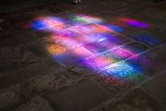 Reflection of a stained glass  by ~ben43000