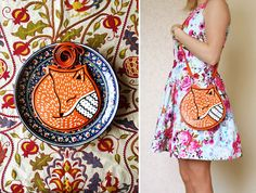Unusual Cute Animals Bags by Krukrustudio creators are Max and Lyuba.|CutPasteStudio| Illustrations, Entertainment, beautiful,creativity, Art,Artist,Artwork, drawings, Paintings, fashion, hand bags, animals.