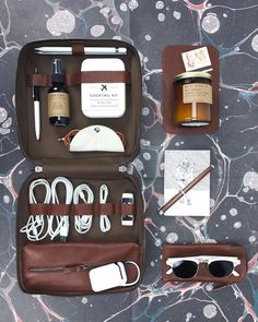 52e3e91a8d Tech Dopp Kit Grande packed with our favorites including our Joey batteries  Carry On Cocktails Candles
