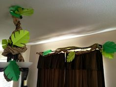 From Becca's Home to Yours...With Love: Throwing a Jungle Party, Part 3: Leaves & Vines
