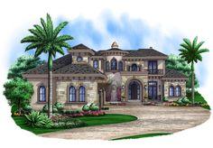 Pure Elegance - 66326WE | Florida, Mediterranean, Spanish, Luxury, 1st Floor Master Suite, Butler Walk-in Pantry, CAD Available, Den-Office-Library-Study, Elevator, Loft, PDF | Architectural Designs