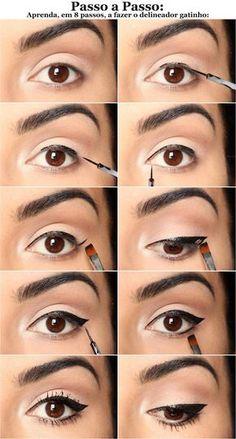 20 Tutoriales de Maquillaje Para ojos Marrones.