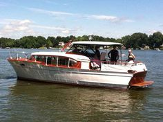 I want a Chris Craft Constellation (I miss my Grampa's, they are so cool)