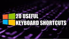 There are so many hidden keyboard shortcuts that you can use on Windows that you should be using. Some of these are hidden secret keyboard shortcut tricks th. Diy Projects That Sell Well, Keyboard Shortcuts, Open Window, Smart Tv, Windows 10, Science And Technology, Need To Know, Words, Youtube
