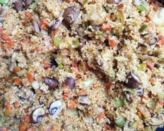 Seriously Simple Bulgur Wheat Pilaf with Mushrooms
