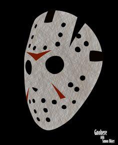 Jason Voorhees Mask by Gnohere.deviantart.com on @deviantART