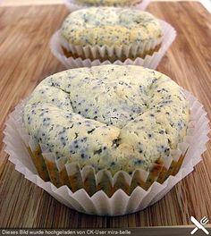Mohn - Marzipan - Muffins