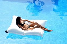 Buy online Premium poolkissen By chillisy, floating lounge Bean Bag Pool Float, Floating Lounge, Waterproof Cushions, Pool Lounge, Shops, Light Letters, Indoor Swimming Pools, Pool Floats, Light Decorations