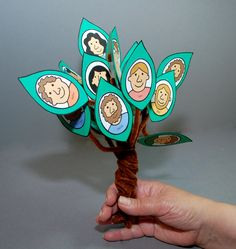 A craft about Jacobs family tree.