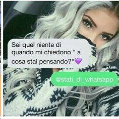Stati whatsapp.. Tumblr Transparents, Colors For Dark Skin, Italian Quotes, Love Phrases, Feeling Alone, Tumblr Quotes, Together Forever, Love Images, Tumblr Girls