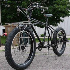 Banjo fat cruiser cargo bike