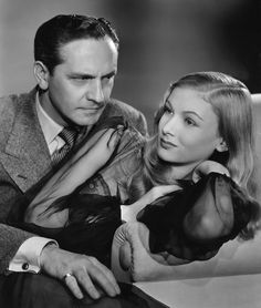 Frederic March and Veronica Lake -- I Married A Witch...  One of my very favorite films.