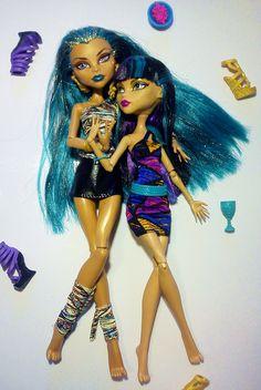 Nefera and Cleo