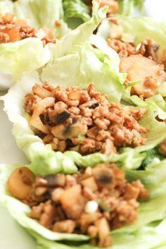 PF Changs Chicken Lettuce Wraps   Six Sisters' Stuff
