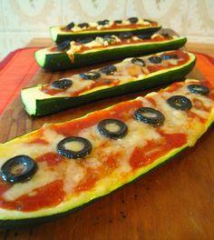 Recipe For Zucchini Pizza Boats