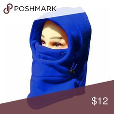 Winter Windbreak Warm Fleece Neck Hat Royal Blue Winter Windbreak Warm Fleece Neck Hat Royal Blue Warmth polar fleece fabricWindproof Both sides of Hat can adjust sizeUnisex design,suitable for male,femaleFull-Face and neck coverage wraps comfortably around your faceGreat for outdoors activities such as snowboarding,skiing,cycling,hiking,fishing,etc Accessories
