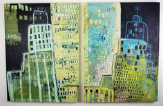 Night City I & II by gilhooly studio