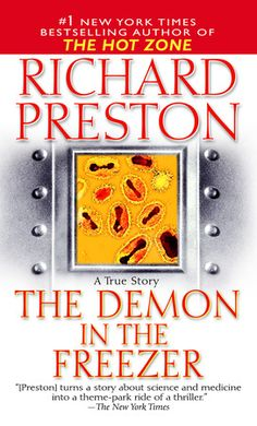 Book 29: The Demon in the Freezer - Richard Preston