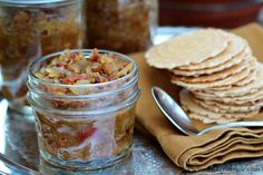 Onion Bacon Jam in the Crock Pot.  I'm making this today!  Yummy!!