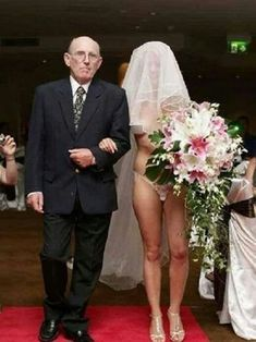 Now that's a TACKY wedding!