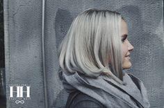 Beautiful silver blonde bob cut / www.healthyhair.fi / #hair #healthyhairfinland #silverblonde #bobcut