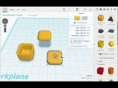 Tinkercad Tutorial -- A Rounded Box - YouTube