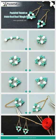 How to Make 2-hole Seed Bead T