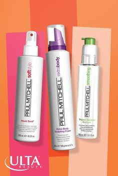 Love these Paul Mitchell hair products for soft, sleek shine and style that stays put. New Super Skinny Serum, Extra-Body Sculpting Foam and Heat Seal.