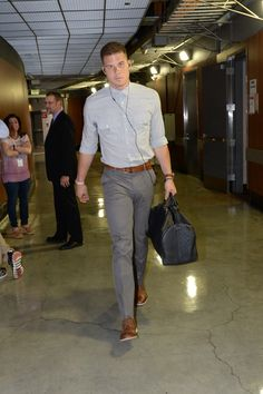 Blake Griffin in his business casual.