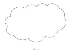 chmura szablon