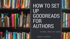 How to set up Goodreads for Authors