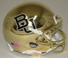 Baylor Bears Chrome Schutt XP Mini Helmet