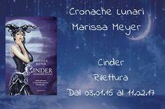 La lettrice sulle nuvole: Gruppo di Lettura Cinder - Cronache lunari, di Mar...