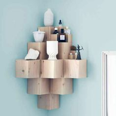 9 Nifty Space Saving DIY Corner Storage Projects - The Cottage Market